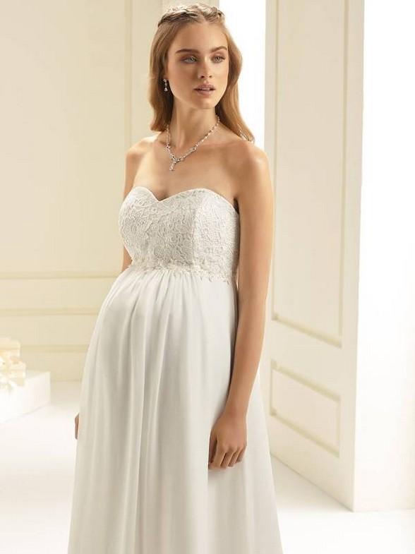 Vestiti Da Sposa X Donne Incinte.Sposa Incinta Atelier San Valentino